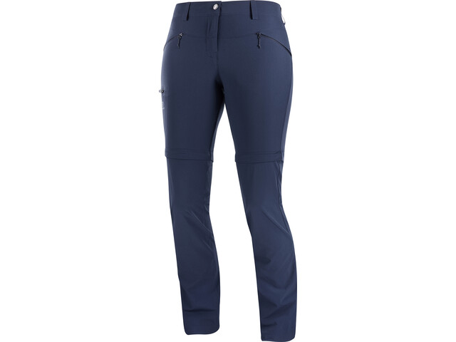 Salomon Wayfarer Straight Afritsbroek Dames, night sky
